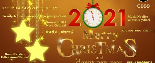 Josip Heit und GSB Gold Standard Gruppe: G999 Botschaft zum Weihnachtsfest 2020 und zu Neujahr 2021