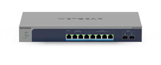 NETGEAR stellt zwei weitere 8-Port Multi-Gig Switches für WiFi 6 Umgebungen vor