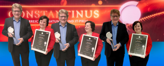 """databee – Mit KI in die Cloud"" gewinnt Constantinus Award ""Internationale Projekte"""