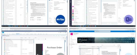M-Files präsentiert neuen Web Client für intelligentes Informationsmanagement