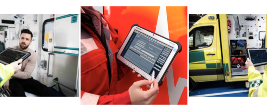 Effizientere Rettungseinsätze dank Digitalisierungslösung von Panasonic und Weinmann Emergency