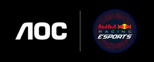 AOC im Team mit Red Bull Racing Esports