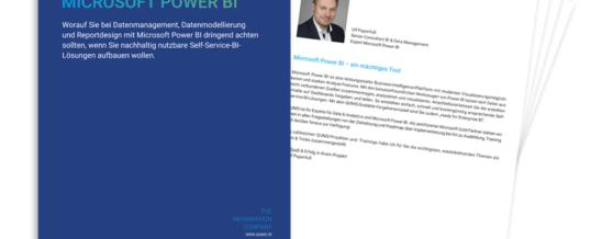 Self Service BI Lösungen mit Microsoft Power BI schnell und professionell aufbauen