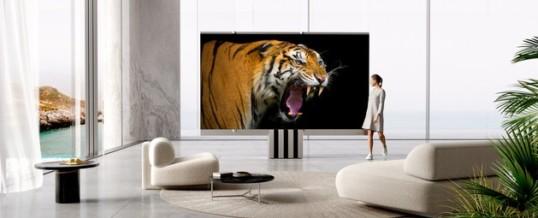C SEED präsentiert den weltweit ersten faltbaren 165-Zoll-Micro-LED-Fernseher – Luxus und Stil, neu definiert