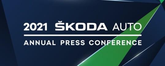 ŠKODA AUTO lädt Journalisten zur digitalen Jahrespressekonferenz ein