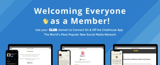 Willkommen im Club: Viele Clubhouse-Fans nutzen auch Club-Domains