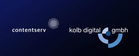 Contentserv und kolb digital – Partner für effizientes Omnichannel Management