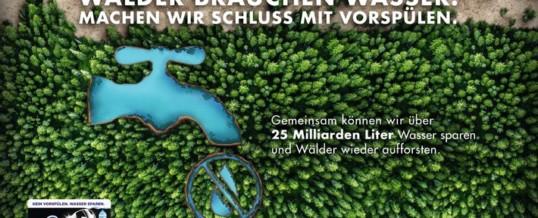 Finish spart Wasser: Zum Weltwassertag erweitert die Marke ihr Engagement für einen bewussten Umgang mit der Ressource Wasser