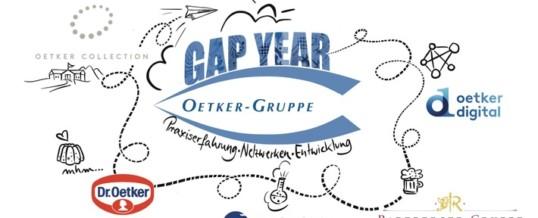 Gap Year Programm Oetker-Gruppe startet im Oktober 2021 / Bachelorabsolventen können sich jetzt bewerben