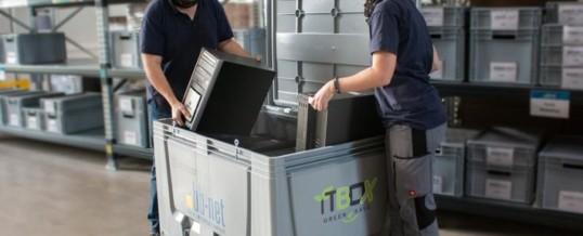 Green-IT BOX: Datensicher, nachhaltig und profitabel / Unternehmen können sich jetzt noch leichter von ausgemusterter IT-Hardware trennen