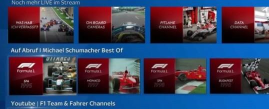 Das beste Formel 1 Erlebnis aller Zeiten geht auf Sky Q an den Start