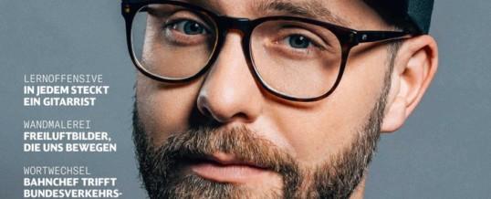 """""""Ich bin nicht immer nett"""": Mark Forster offenbart im Titelinterview mit DB MOBIL ungemütliche Seiten / Zudem erklärt der Sänger des """"Maus""""-Geburtstagslieds seine polnische Seite – und seine Käppis"""