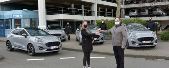 Ford stellt Fahrzeuge für Impffahrten zur Verfügung