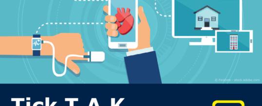 Tick T.A.K – Zeit für Mobile Health Security