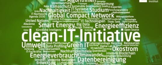 """""""clean-IT Forum"""": Ideenaustausch für energieeffizientere Digitalisierung"""