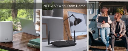 The New Normal: Home Office ist gekommen, um zu bleiben – NETGEAR zeigt, worauf es beim mobilen Arbeiten wirklich ankommt.