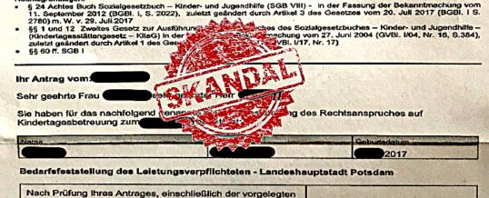 Skandal in Potsdam: Bürger fordern den Rücktritt von Oberbürgermeister Mike Schubert und Sozialdezernentin Brigitte Meier