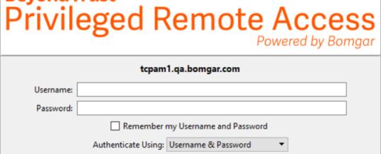 Neue Funktionen in BeyondTrust Privileged Remote Access 21.1
