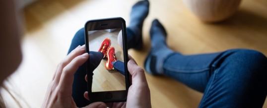 Schlaue neue Shoppingwelt: Augmented Reality begeistert die Kunden, steigert die Umsätze und senkt die Retouren!