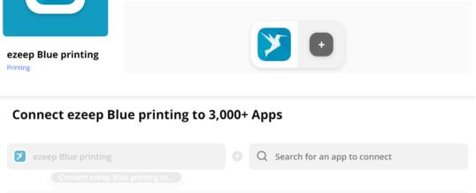 Mit ezeeps Zapier-Integration können Tausende von Apps automatisch drucken