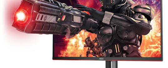 Ach Kristallklar und rasend schnell: 4K Gaming-Monitor von AOC mit 144 Hz und 1 ms