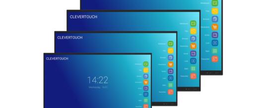 Clevertouch präsentiert Upgrades seiner drei Produktlinien