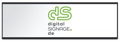 digitalSIGNAGE.de 37 Zoll Widescreen Display für Digital Signage mit Cloud-Steuerung