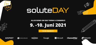 solute GmbH veranstaltet soluteDAY am 09. und 10.06.2021 mit namhaften Speakern