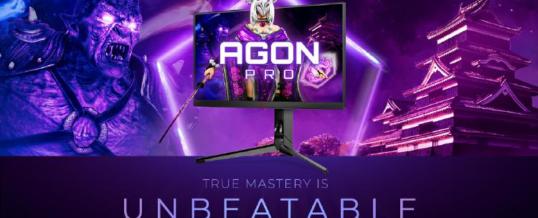 Im Dienste der Legenden: AGON PRO AG254FG mit 360 Hz und Nvidia Reflex