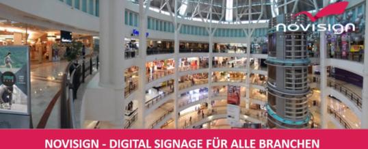 NoviSign – Digitalisierung für alle Branchen