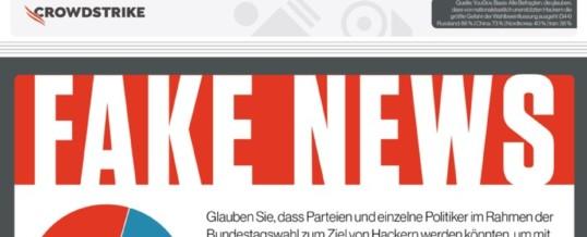 Umfrage – Cyberangriffe zur Bundestagswahl 2021: Deutsche halten sich selbst für immun gegen Fake News