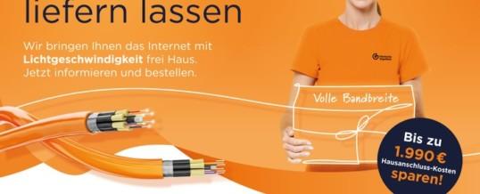 Eines der größten eigenwirtschaftlichen Glasfaserprojekte Deutschlands startet mit der Deutschen GigaNetz als Partner / Ab 5. Juli beginnt in den ersten Kommunen bereits die Vermarktungsphase