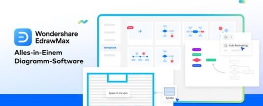 Wondershare veröffentlicht EdrawMax 11.0, um die Diagrammerstellung für Einzelpersonen und Teams zu verbessern / Mit mehr als 280 Diagrammtypen und einer intuitiven Oberfläche