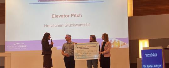 """KI im Qualitätsmanagement – AC Süppmayer gewinnt den """"Innovationspreis für die digitale Zukunft des Kundenservice"""""""